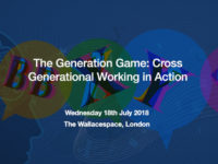 EVENT The Generation Game: Cross-Generational Working in Action